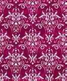Texture rouge foncé de damsak Images libres de droits