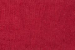 Texture rouge thaïlandaise de tissu Photos stock