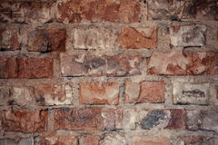 Texture of rough brick wall in old house. Background for design. Texture of rough brick wall in old house. Background for design Stock Photo