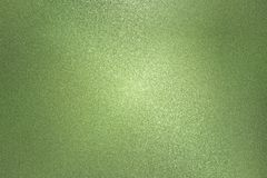 Texture of rough dark green metal wall, abstract background.  stock image