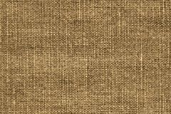 Texture of rough fabric brown sepia color Royalty Free Stock Images