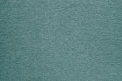 Texture of rough fabric or canvas green color Stock Images