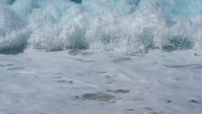 Texture of rough fabric closeup stock footage