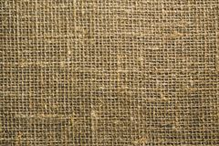 The texture of the rough fabric from the matting light brown color stock photography