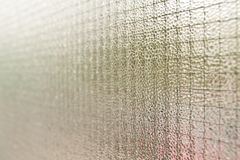 Texture of rough glass Royalty Free Stock Photography