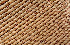 Texture of rough rope Royalty Free Stock Photography