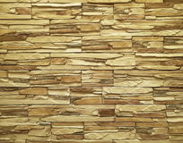 Texture of rough stone wall Stock Photography