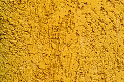 The texture of rough surface yellow Royalty Free Stock Photo