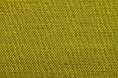 Texture of rough wattled fabric with knots Stock Photo