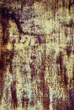 Texture rouillée de Brown et de fer jaune pour le fond Images libres de droits