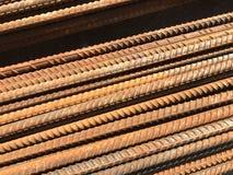 Texture rouillée des éléments de fer et de construction Photos libres de droits