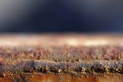 Texture rouillée en métal Images libres de droits