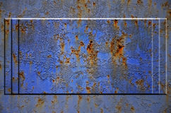 Texture rouillée en métal Photos stock