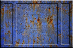 Texture rouillée en métal Photos libres de droits