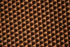 Texture rouillée en métal avec des cercles Photos stock