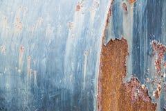 Texture rouillée en métal avec le fond multicolore Photo stock