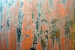 Texture rouillée grunge en métal Photographie stock libre de droits