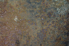 Texture rouillée grunge en métal Photo stock