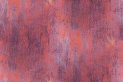Texture rouillée sans couture en métal Photographie stock libre de droits