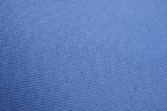 The texture of a royal blue cotton cloth Stock Photos