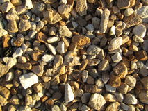 Texture of rubble. Of light shades royalty free stock photo