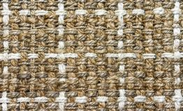 The texture of the rug of coarse fiber. Background for design and decoration royalty free stock image