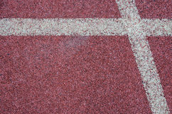 Texture of running track Royalty Free Stock Image