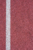 Texture of running track Royalty Free Stock Photo