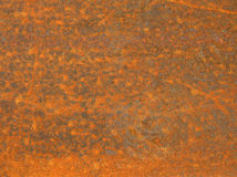 Texture: Rust 2. A sheet of metal pitted with rust. For textures and backgrounds Royalty Free Stock Image