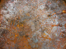 Texture rust on metal. Background stock images