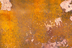 Texture of rusted metal. Background Stock Photos