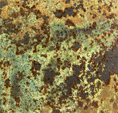 Texture of rusted metal Stock Photos