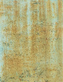 Texture rusted sheet Royalty Free Stock Photos