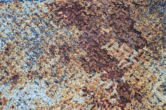 Texture of rustic metal plate Royalty Free Stock Photos