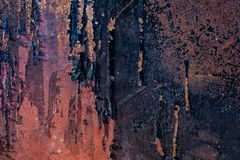 Texture rustly de fond en métal images libres de droits