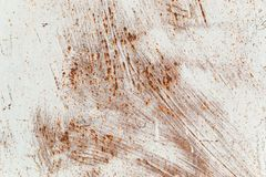 Texture of rusty iron, cracked paint on an old metallic surface, sheet of rusty metal with cracked and flaky paint, abstract rusty stock photos