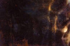 The texture of rusty iron. The rectangular horizontal background. Stock Photo