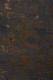 The texture of rusty iron. Spots of rust on metal. Stock Photos