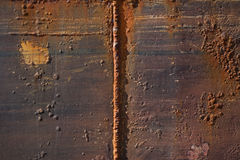 Texture of rusty metal Royalty Free Stock Photos
