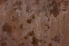Texture of rusty metal. Corrosion. Abstract background Royalty Free Stock Images