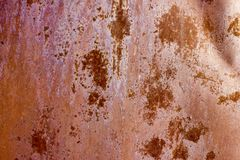 Texture of rusty metal. Corrosion. Abstract. Background Stock Photo