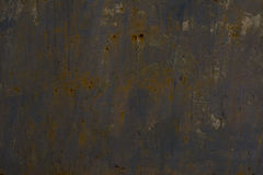 Texture of rusty metal. Iron background with rust spots. Stock Image