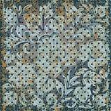 Texture of rusty metal mesh Stock Photo