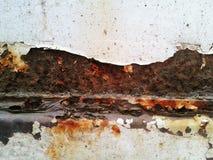 Texture of rusty metal Stock Image