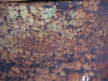 Texture of rusty metal Stock Photography