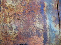 Texture of rusty metal Royalty Free Stock Photo