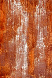 Texture of an rusty metal. Texture of rusty metal with white paint Stock Image