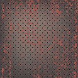 Texture of rusty metallic mesh Royalty Free Stock Image