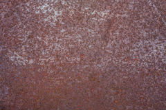 Texture of rusty sheet metal Royalty Free Stock Photography