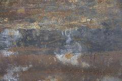 Texture of a rusty surface Royalty Free Stock Image
